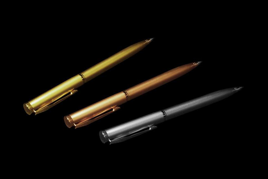 Mj Exclusive Luxury Pens Made Of Gold Platinum Wood